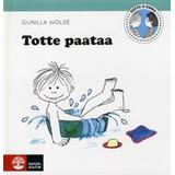 Totte gunilla Böcker Totte paataa: Totte badar (Inbunden)