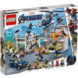 Superhjältar Leksaker Lego Marvel Super Heroes Avengers Kasernstrid 76131