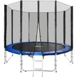 Studsmatta tectake Trampoline 305cm + Safety Net