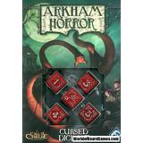 Tillbehör för sällskapsspel Fantasy Flight Games Arkham Horror Cursed Dice Set