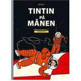 Tintin i Böcker Tintin på månen (Inbunden)
