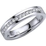 Ringar Schalins Norrsken Aura White Gold Ring w. Diamond