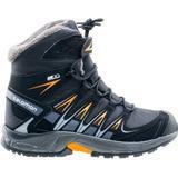 Outdoorskor Barnskor Salomon XA Pro 3D Winter TS CSWP J - Black/Magnet/Tangelo (398457)