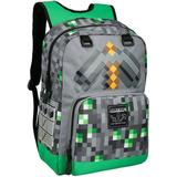 Väskor Minecraft Emerald Survivalist Backpack - Green