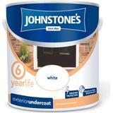 Primer Paint Johnstones Weatherguard Exterior Undercoat Wood Paint, Metal Paint White 2.5L