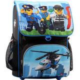 Skolväska Lego Optimo - City Police Chopper