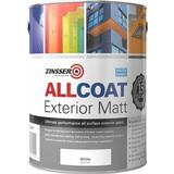 Paint Zinsser AllCoat Exterior Matt Wood Paint White 2.5L