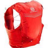 Ryggsäck herr Väskor Salomon Adv Skin 12 Set - Fiery Red