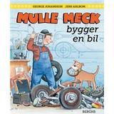 Mulle meck Böcker Mulle Meck bygger en bil (Inbunden)