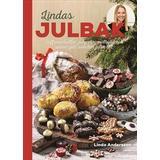Lindas matbröd Böcker Lindas julbak: saffransbullar, julgodis, matbröd och annat gott som hör julen till (Inbunden)