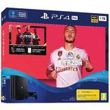 Game Consoles Deals Sony PlayStation 4 Pro 1TB - FIFA 20 Bundle