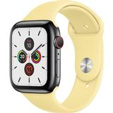 Apple Watch Series 5 Wearables Apple Watch Series 5 Cellular 44mm Stainless Steel Case with Sport Band