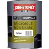 Anti-corrosion Paint Johnstone's Trade Micaceous Iron Oxide Anti-corrosion Paint Silver 5L