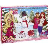 Advent Calendar Mattel Barbie Christmas Calendar