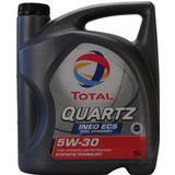 5w 30 5 liter Motortillbehör Total Quartz Ineo ECS 5W-30 5L Motorolja