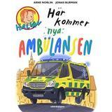 Halvan här kommer arne norlin Böcker Här kommer nya ambulansen (Inbunden)