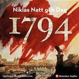 1794 niklas natt och dag Böcker 1794 (Ljudbok CD)