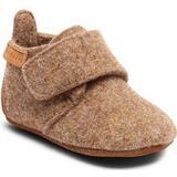 Inneskor Barnskor Bisgaard Baby Wool - Camel