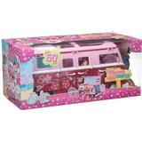 Fashion Dolls - Toy Vehicles Simba Steffi Love Doll with Hawaii Camper Van