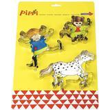 Köksleksaker Micki Pippi Cookie Cutters