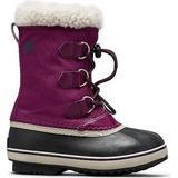 33 Barnskor Sorel Yoot Pac Nylon Boot - Wild Iris/Dark Plum