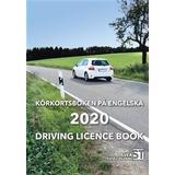 Driving licence book Böcker Körkortsboken på Engelska 2020: Driving licence book