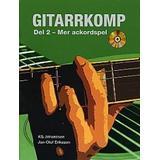 Gitarrkomp Böcker Gitarrkomp del 2: mer ackordspel (Häftad, 2009)