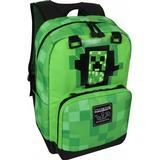 Skoletaske Minecraft Creepy Creeper Single Backpack - Green