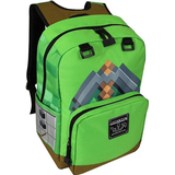 Skoletaske Minecraft Pickaxe Adventure - Green