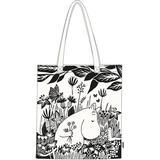 Tygkasse Martinex Moomin On the Field Ecobag - White
