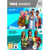 Sims 4 discover university PC-spel The Sims 4 + The Sims 4: Discover University Bundle