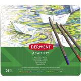 Akvarellpennor Derwent Academy Watercolour Tin of 24