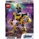 Superhjältar Leksaker Lego Marvel Avengers Thanos Mech 76141