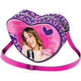 Väskor Disney Violetta Heart Love - Pink/Purple