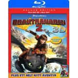 Draktränaren 2 Filmer Draktränaren 2 3D: D.E. (Blu-ray 3D + Blu-ray) (3D Blu-Ray 2014)