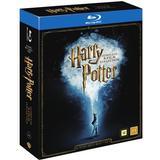 Filmer Harry Potter 1-8: Slimbox + karta & booklet (8Blu-ray) (Blu-Ray 2016)