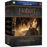 Filmer Hobbit Trilogy: Extended edition (9Blu-ray) (Blu-Ray 2014)