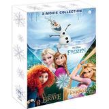 Disney dvd box Filmer Disney Winter Blu-ray-box 2014 - 3 filmer (3Blu-ray) (Blu-Ray 2014)