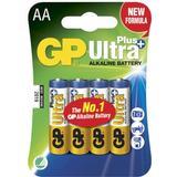 Batterier & Laddbart GP Batteries Ultra Plus AA 4-pack