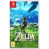 Nintendo Switch-spel The Legend of Zelda: Breath of the Wild