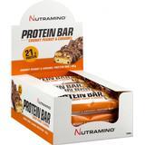 Bars Kosttillskott Nutramino Protein Bar Chunky Peanut & Caramel 60g 12 st