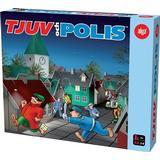 Familjespel Alga Tjuv och Polis