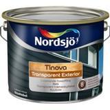 Målarfärg Nordsjö Tinova Transparent Exterior Lasyrfärger Svart 2.5L