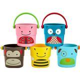 Badkarsleksaker Skip Hop Zoo Badleksak Hinkar 5-pack