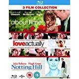 About Time Filmer About Time/Love Actually/Notting Hill (Triple Pack) [Blu-ray] [Region Free]