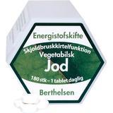 Vitaminer & Mineraler Berthelsen Jod 180 st