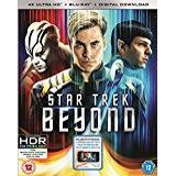 Star Trek Beyond Blu-ray Star Trek Beyond (4K UHD Blu-ray + Blu-ray + Digital Download) [2016] [Region Free]