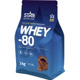 Protein Star Nutrition Whey-80 Chocolate 1kg