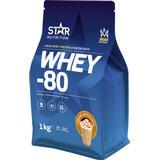 Protein Star Nutrition Whey-80 Caramel Latte 1kg