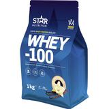 Star Nutrition Whey-100 Vanilla 1kg